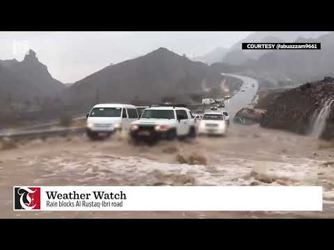 Weather update: Northern Oman witnesses rainfall