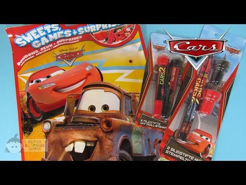 DISNEY Pixar CARS Unboxing Mega BLIND BAG With Cool SURPRISES And Cars STAMPS – 3S