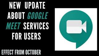 Google Meet Service Update 2020 | 2020 Video Conferencing App Google Meet update | #Tecnawabiqueen