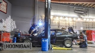 [HOONIGAN] DT 065: $500 BMW Bill Caswell meets our $350 BMW E36 (Part 1)