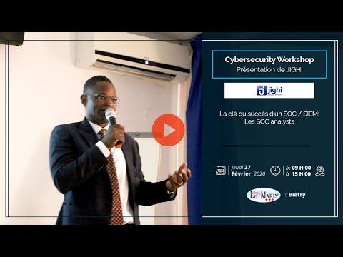 <a href='https://www.akody.com/business/news/business-cyber-security-workshop-la-cle-du-succes-d-un-soc-siem-les-soc-analystes-presente-par-jighi-325820'>Business: CYBER SECURITY WORKSHOP, La Clé du Succès d'un SOC / SIEM (Les SOC Analystes) présenté par Jighi</a>