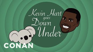 """Kevin Hart In """"Kevin Hart Goes Down Under"""" - CONAN on TBS"""