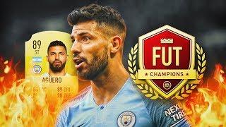 JUGANDO FUT CHAMPIONS EN DIRECTO CON MI PLANTILLA BARATA!!   FIFA 19