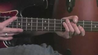 Bass Blues Scale Across the Fretboard