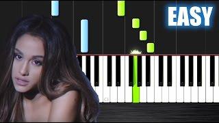 Ariana Grande - Dangerous Woman - EASY Piano Tutorial by PlutaX