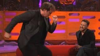 QUENTIN TARANTINO: Dancing The Pulp Fiction Twist (The Graham Norton Show)