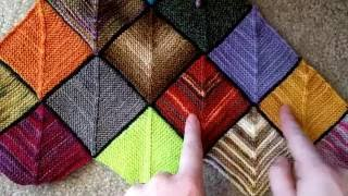 Ladybug Laboratory - Blanket Tutorial 1: Base Squares