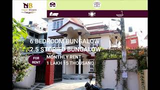 6BHK Bungalow FOR RENT at Maharajgunj