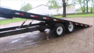 2013 PJ tilt deck equipment trailer for sale | no-reserve Internet auction May 24, 2017