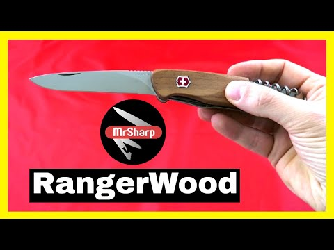 Victorinox RangerWood 55 Swiss Army Knife: best multi tool knife review.