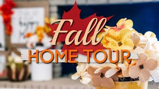 FALL HOME TOUR 2019   FARMHOUSE FALL DECOR TOUR