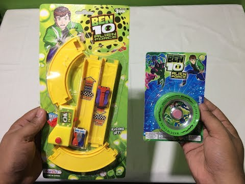 Ben10 Alien Force Car Track Set & Ben10 Yoyo Spiner II TOK TOK TV