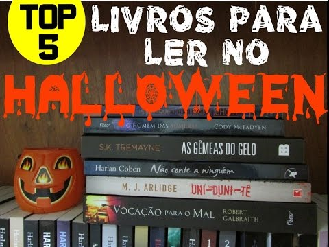 [Top 5] Livros para ler no Halloween
