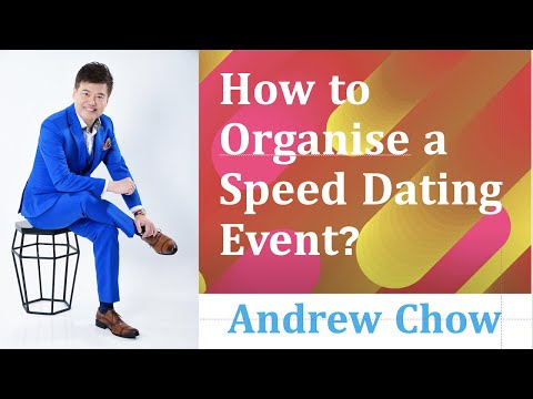 , title : 'How To Organise A Speed Dating Event?