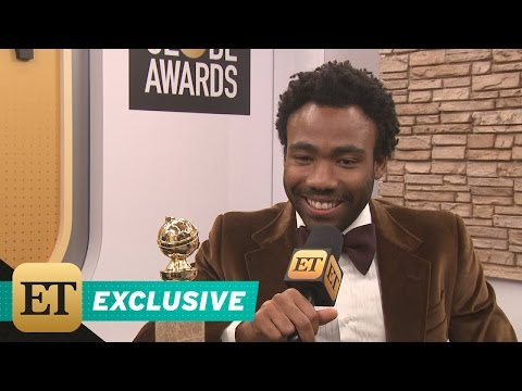 EXCLUSIVE: Donald Glover on His Migos Shoutout at the Golden Globes: 'I Think They're The Beatles'