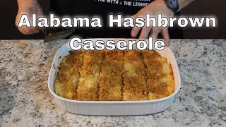 Alabama Hashbrown Casserole!   (Ritz Crackers on Top!)