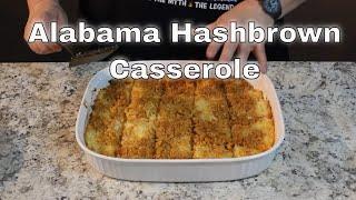 Alabama Hashbrown Casserole!   (Ritz Crackers on Top!)