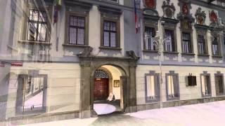 Laserové skenování - ukázka radnice České Budějovice