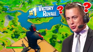 A PRO CASTER Spectated me doing THIS In Fortnite...