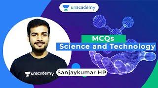 Important Science & Technology MCQs - 8   FDA/SDA/PSI/KAS   Sanjaykumar HP