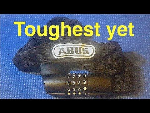 (Picking 61) ABUS Tresor Chain Catena Combination 1385 bike lock (decoded)
