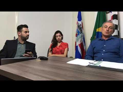 Prefeito Ayres Scorsatto faz uma Live de prestações de Contas do Seu Governo