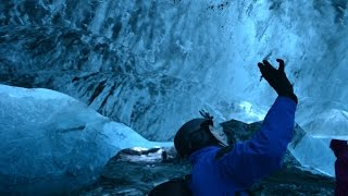 Glacial Ice Cave Tour In Iceland