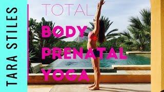 10 Minute Total Body Prenatal Yoga & Gentle Stretch by TaraStiles