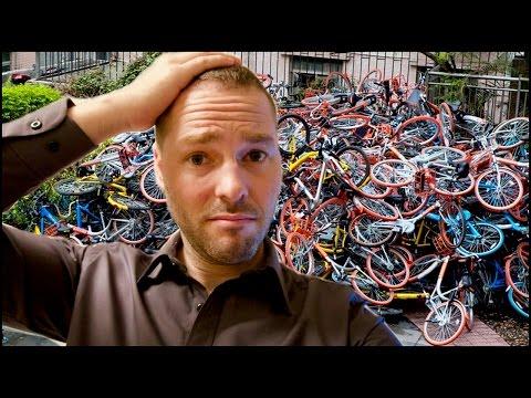 China's Bicycle sharing WENT INSANE!