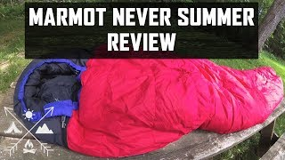 Marmot Never Summer Sleeping Bag Review