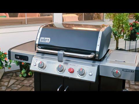 Weber Genesis II Smart Grills Introduction