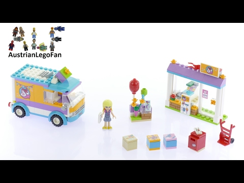 Vidéo LEGO Friends 41310 : La livraison de cadeaux d'Heartlake City