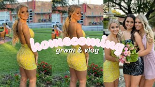 Homecoming Get Ready With Me 2019 + Vlog