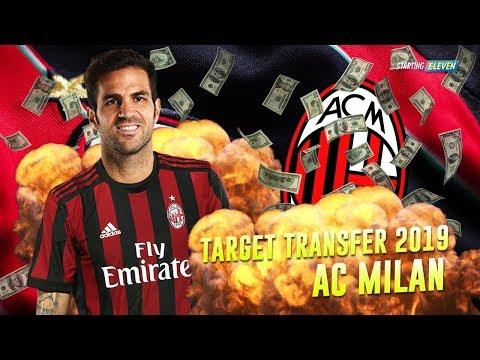7 Pemain Incaran AC Milan di Bursa Transfer Januari 2019 - Rumor Transfer