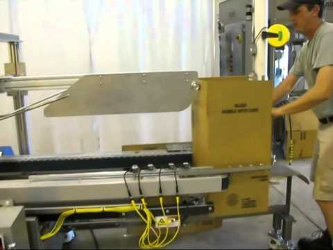 TBS100SA T Rail Hot Melt Sealer