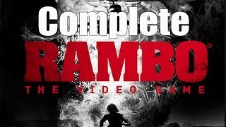 RAMBO The Video Game Complete Walkthrough