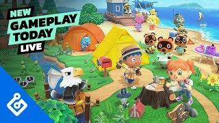 Animal Crossing: New Horizons — New Gameplay Today Live