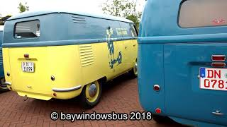 2ND EUROPEAN BARNDOOR GATHERING & VINTAGE VW SHOW 2018 / BARNDOOR SQUARE part2-2
