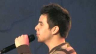 David Archuleta Sings Imagine, Hollywood Tree Lighting