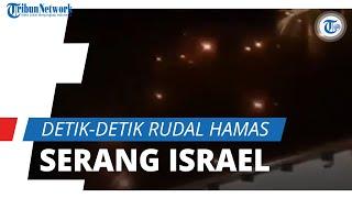 Detik-detik Benturan Roket Hamas vs Rudal Iron Dome Israel, Buntut Insiden di Masjid Al-Aqsa