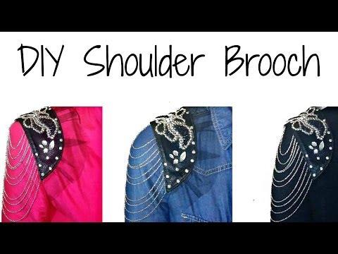 Naidra037 | DIY | Shoulder Brooch | H&M Inspired