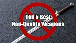 Top 5 Best Non Quality Weapons   Dark Souls III