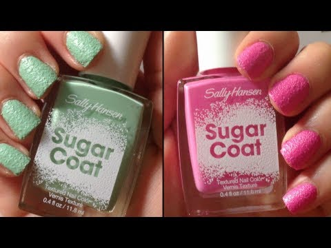 "Sally Hansen: ""Sugar Coat"" Nail Polish Review HD"