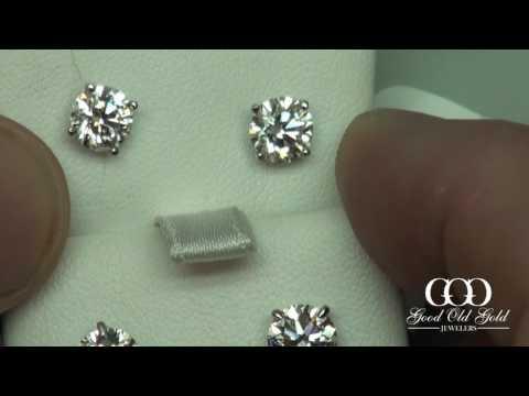 Diamond Stud Earring comparison