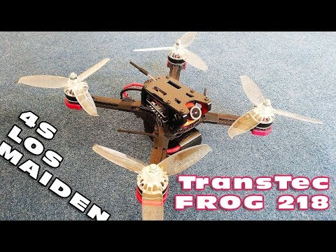 Maiden LOS flight with the TransTec FROG 218.. I like it :D