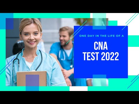 HOW TO PASS HOME HEALTH AIDE AND CNA TEST  REVIEW WITH ANSWERS 2021