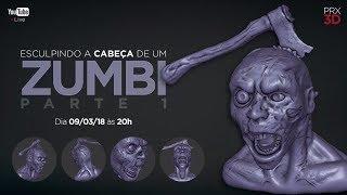 modelando zombi no blender