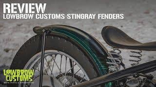 Stingray Ribbed Steel Fender 6