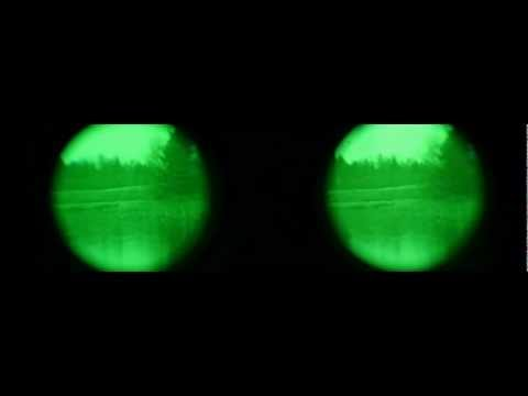 Review & Demo - Night Owl Optics Night Vision Binoculars Model # NONB2FF - How to Record NV Goggles