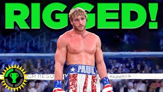 Game Theory: Logan Paul's FIXED Fight (Logan Paul vsFloyd Mayweather)